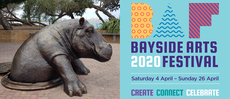 The Bayside Arts Festival features a sculpture exhibition at Cook Park Kyeemagh