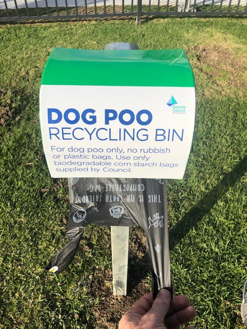 Dog Poo Bag Dispenser