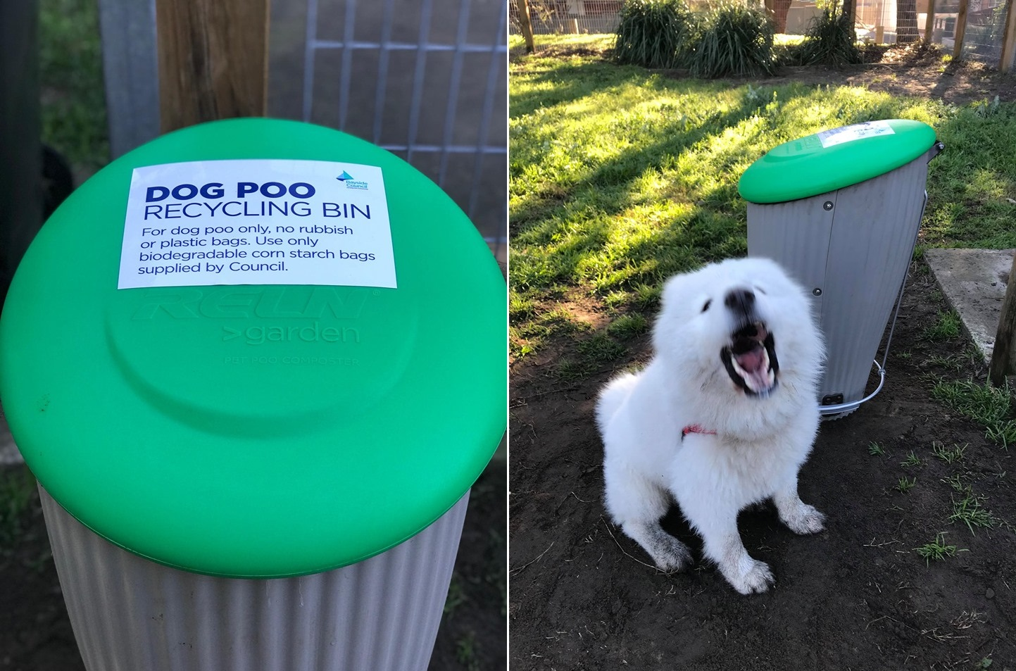 Dog Poo Recycling Bins