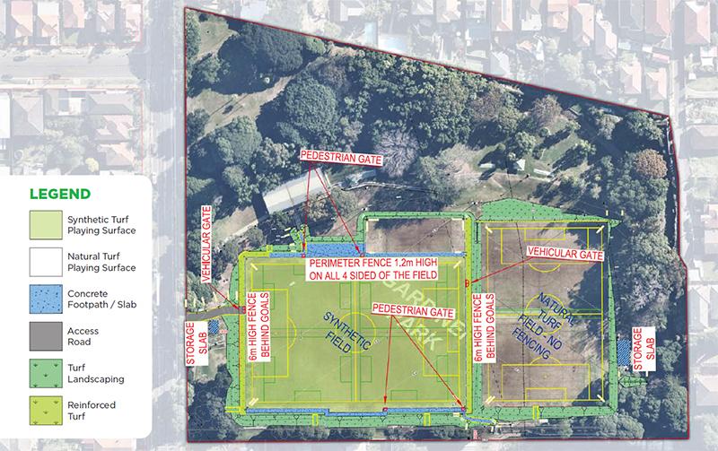 Gardiner Park Upgrade