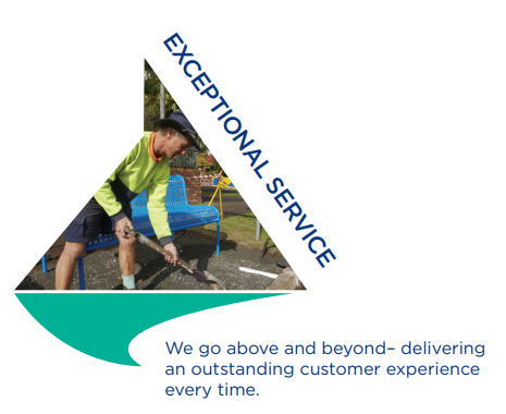Values - Exceptional Service